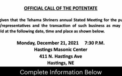 Official Call of the Potentate