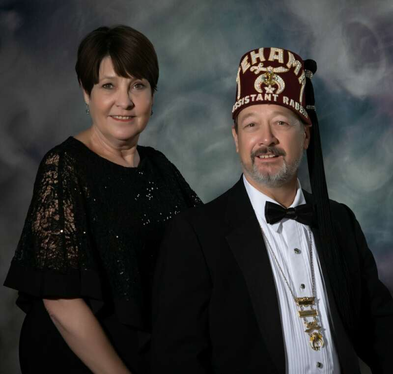 Jeffrey S. Messbarger and Lady Janice