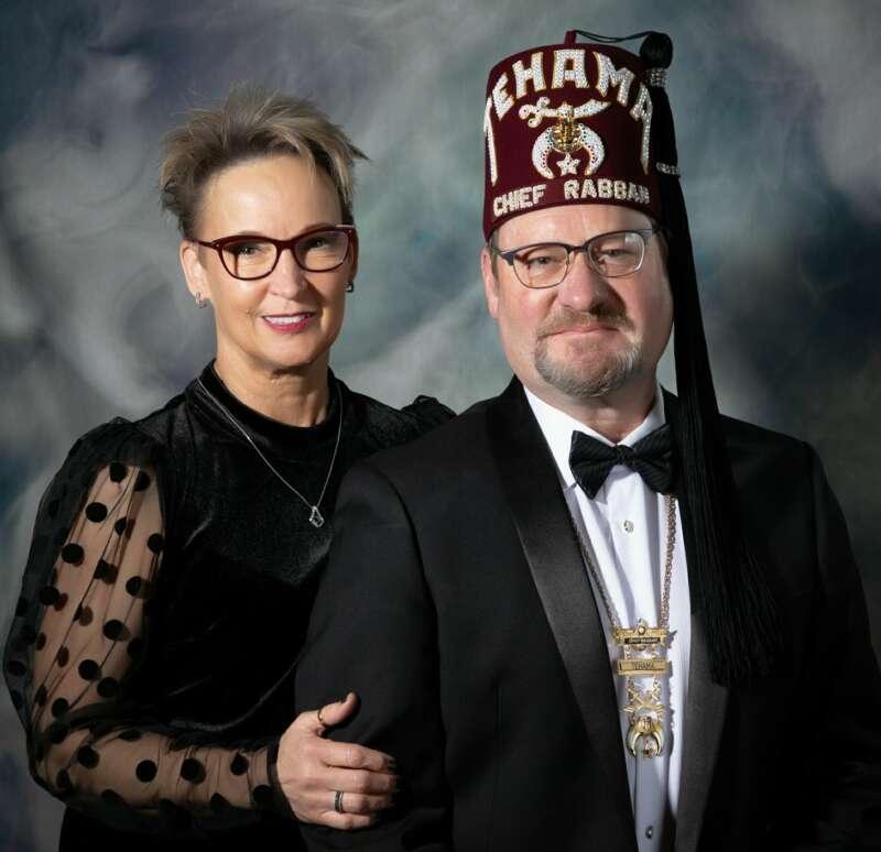 Thomas S. Stewart and Lady Denise